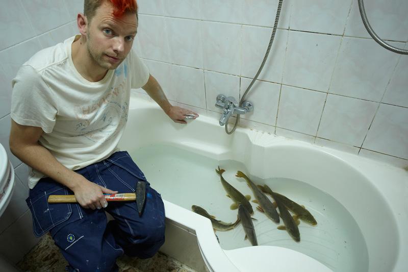 6 stora fiskar / 6 peşti mari (2013) - Photo