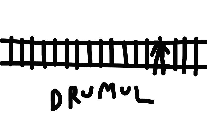 Dan Perjovschi - Drumul (2016) - Photo