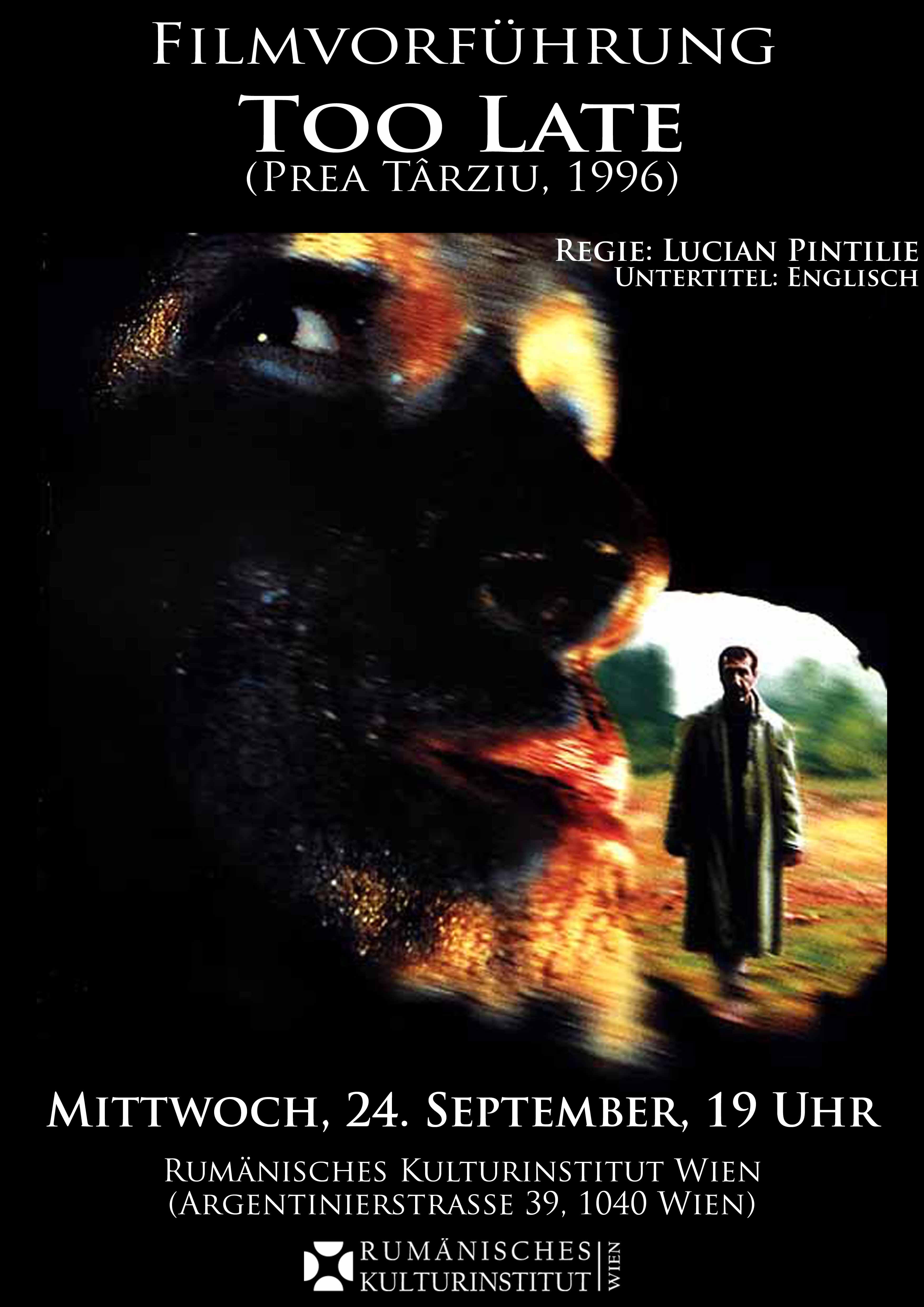 Too Late (1996) - Photo