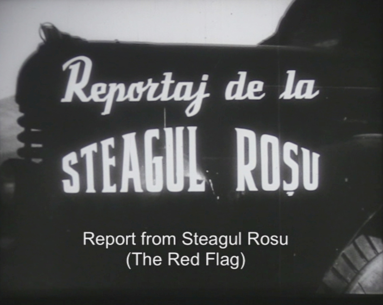 Reportaj de la Steagul Roşu (1956) - Photo